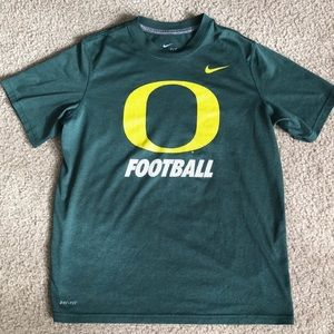 Boy's Nike Dri-Fit Oregon Football Shirt